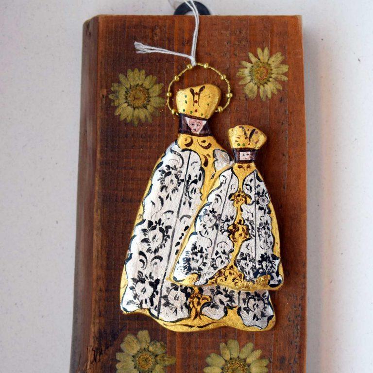 Madonnina su legno