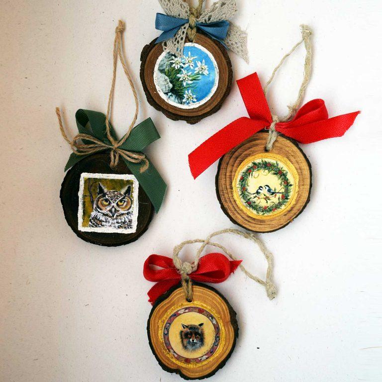 Medaglioni legno